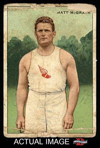 1912 T227 # 23 HLC Matt McGrath (Baseball Card) (Honest Long Cut) Dean's Cards 1 - POOR