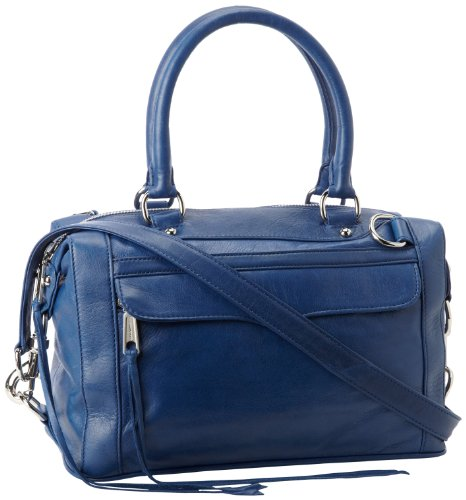 Rebecca Minkoff Mab Mini H403E001 Shoulder Bag,Navy,One Size, Bags Central