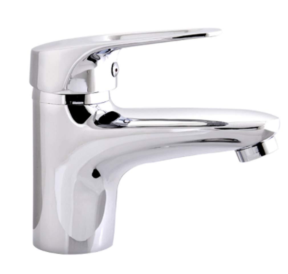 Wasserhahn Küchen Gebürsteter Nickel Spültischbathroom Basin Faucet Brass Vessel Sink Water Tap Cold And Hot Water Crane Single Handle Mixer Tap