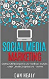 Social Media Marketing: Strategies for Beginners to Use Facebook, Youtube, Twitter, LinkedIn, Snapchat and Pinterest for their Business