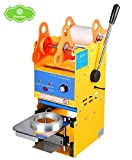 ZY-BF05 Semi Automatic Plastic Paper Cup Sealer Sealing Machine for Bubble Milk Coffee Smoothies Tea Cup 300-500 cups/hr 350W (110V) review
