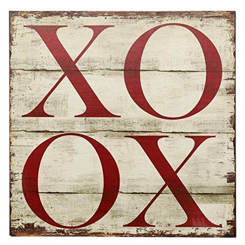 Barnyard Designs XOXO Retro Vintage Tin Bar Sign Country Home Decor 11