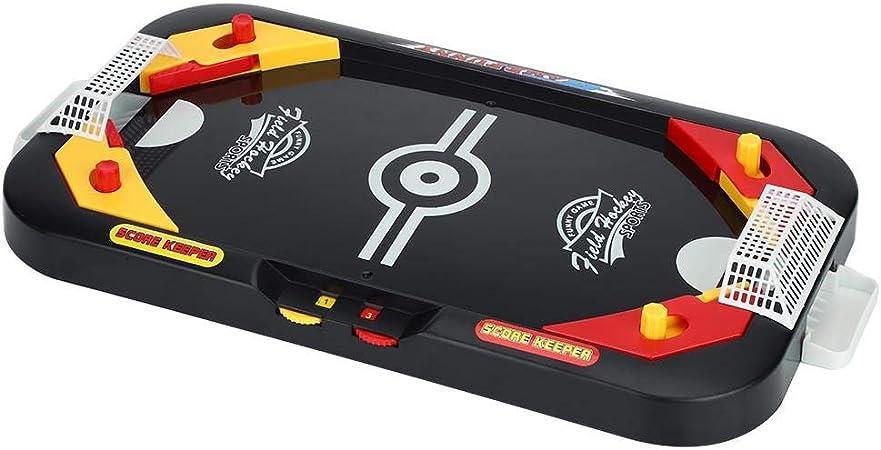 Alomejor Juego de Hockey sobre Hielo Juego de Mesa de Juego de Hockey de Aire Mini Juego de Mesa Juego de Mesa para niños y Adultos: Amazon.es: Deportes y aire libre