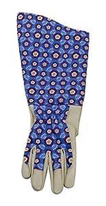Cardos speedback/señoritas jardinería ENGELAMIENTO guantes con LILA Tudor Rose cruzerlite, de un tamaño medio