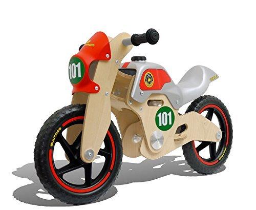 Bicicletta Senza Pedali Da Equilibrio Per Bambini In Legno Bultaco