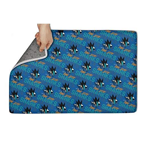 (GMFDDFJDG Interest Floormat Non Slip Door Mats Doormat Carpet pet Front Welcome Custom Door mats Rug Floormat Super Absorbtion 23.5