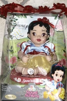 Disney Princess Royal Nursery Porcelain Snow White -