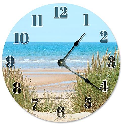 51mdQ6QTiSL The Best Beach Wall Clocks You Can Buy