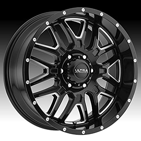 Ultra 203BM Hunter 17x9 5x127 +10mm Black/Milled Wheel Rim