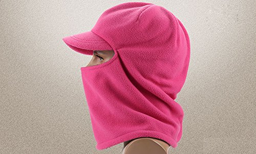 Leories Winter Windproof Cap Fleece Balaclava Hooded Face Mask Neck Warmer Ski Hood Snowboard Mask Wind Protector Ski Hat