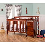 4 in 1 Crib and Changer Dream On Me 5 in 1 Brody Convertible Crib with Changer, Espresso