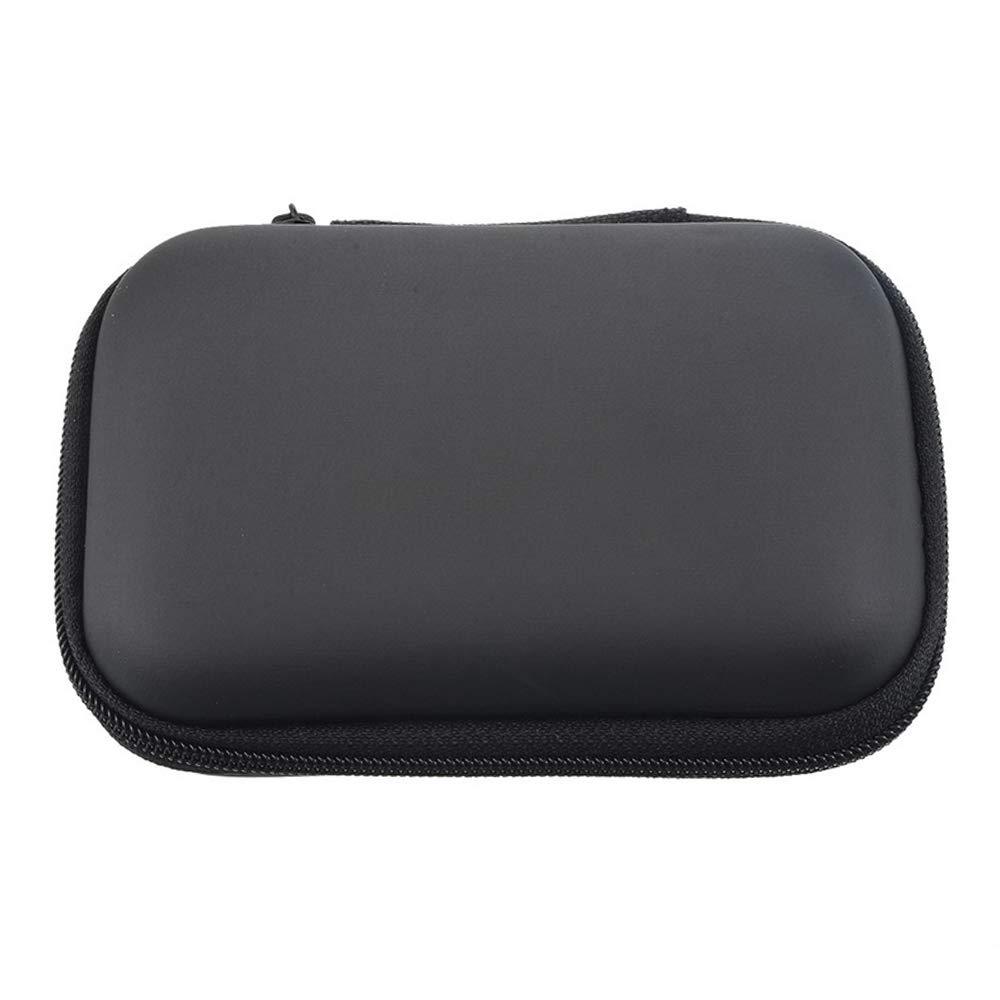 Godagoda Headphone Case Travel Storage Bag for Earphone Data Cable Charger