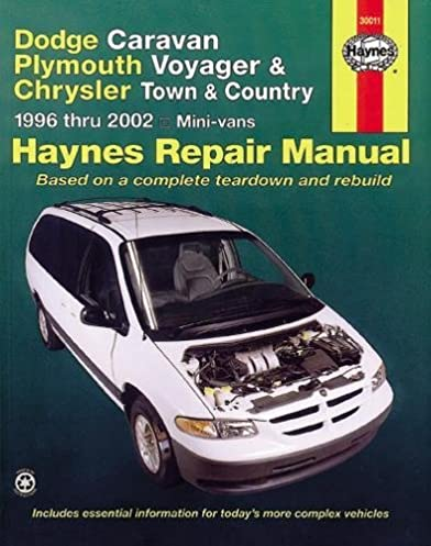 dodge caravan plymouth voyager chrysler town country 96 02 haynes rh amazon com