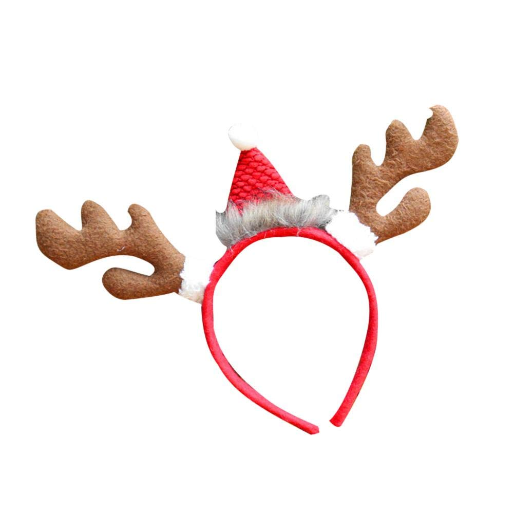 Bouder Weihnachts-Stirnband für Damen und Mädchen, Weihnachtsgeschenk, Weihnachtsgeschenk