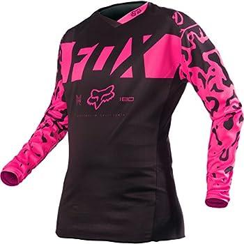 Amazon.com  Fox Racing 2016 Womens 180 Jersey-Black Pink-XS  Clothing 4b5541d14