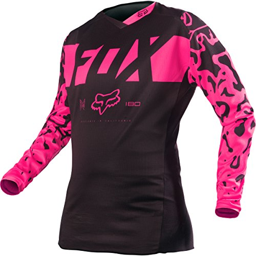 Fox Racing 2016 180 Youth Girls Dirt Bike Motorcycle Jerseys - Black/Pink / Medium