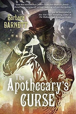 book cover of The Apothecary\'s Curse