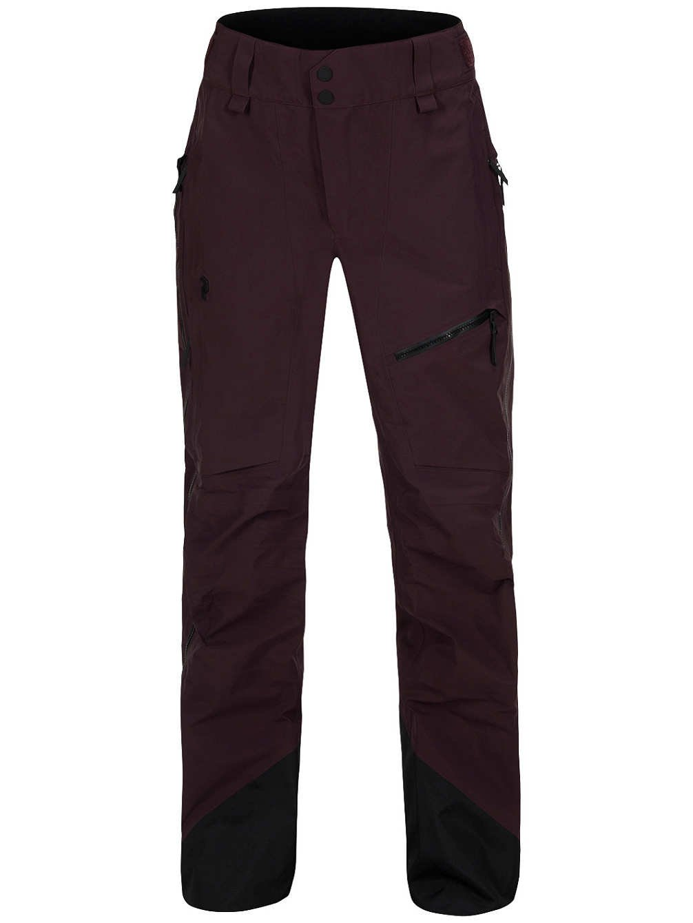 Peak Performance - Alpine Damen Skihose (dunkelrot)