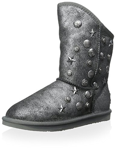 Australia Luxe Collettivo Donna Angelo Stivaletto Nero Crackle Nero / Argento