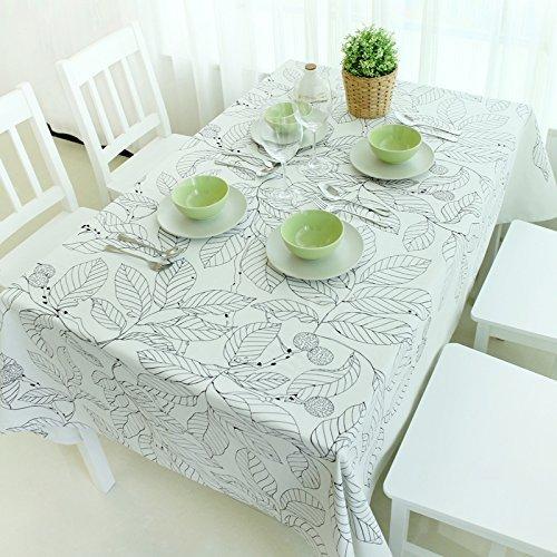MOMO European Style Simple Cotton Table Table Cloth Hotel Hotel Top Grade Tablecloth,BB,90x140cm