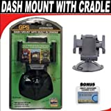 Dash Mount With Built In Cradle For The Garmin Nuvi 465T, 5000, 650, 660, 670, 680, 750, 760, 770, 775T, 780, 785T GPS Systems