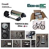 Ebike KIT 350/500W Electric Bicycle E Bike Complete Conversion Kit Front Hub Motor, Battery Li-Ion 32km/h LED 26/27.5/28/29/700C rim sizes (Bike not included) (700C)