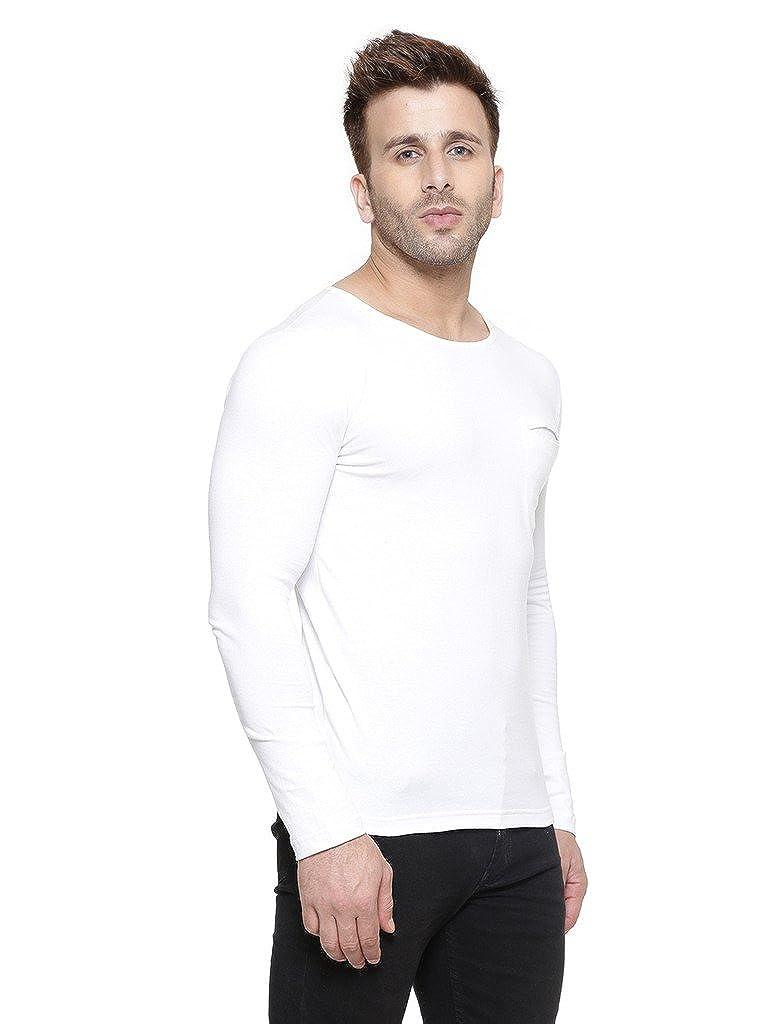 GESPO Men's Cotton Round Neck Full Sleeves Tshirt: Amazon in