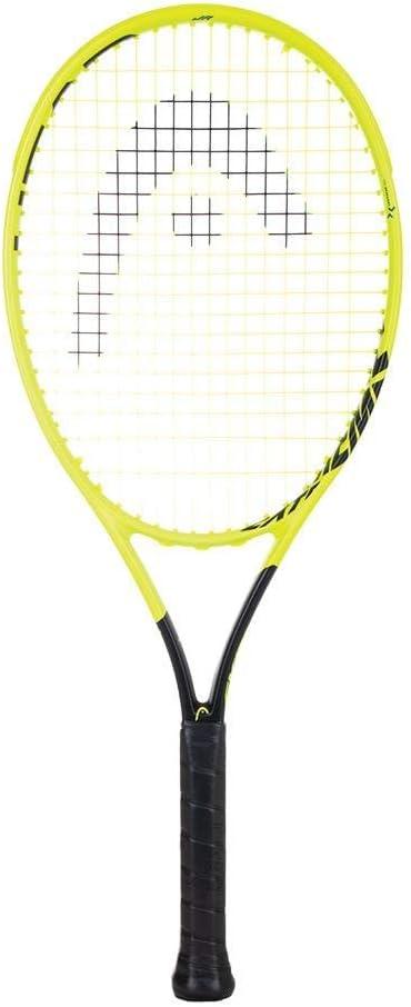 Head Graphene 360 エクストリームライト (2019バージョン) テニスラケット カスタムストリングカラー 銀 Strings 4 1/8 Inch Grip
