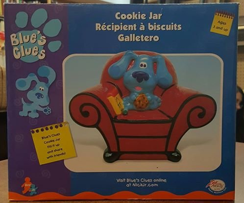 Blues Clues Zak Designs Blue's Clues Thinking Chair Cooki...
