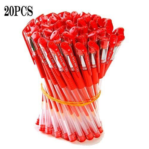 pairris Art/ículos de papeler/ía Pluma Material Escolar Pluma de Gel Neutral Pen 0.5mm Carbon Pen Material Escolar y Educativo