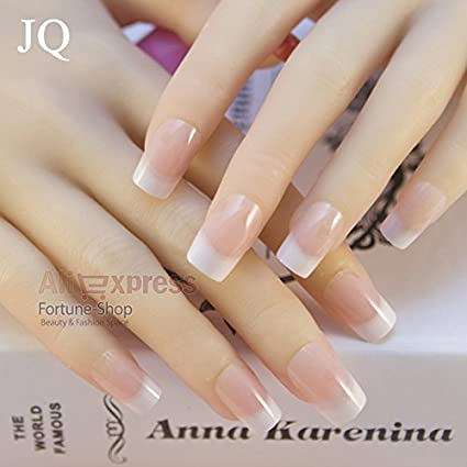 a59c70a266 Buy Generic K12: JQ 24pcs/set French False Nails Sex Products Acrylic Full  Nail Tips French Etagere 12 size Faux Ongles Fake Nails Free Glue Online at  Low ...
