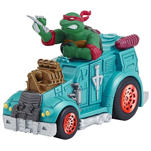 Turtles T-Machines Raphael in Armored Truck Diecast Vehicle (Armored Truck)
