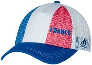 adidas France Soccer 2014 FIFA World Cup Flag Mesh Adjustable Hat/Cap