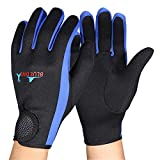 Diving Gloves, 1Pair/Set 3 Colors Scuba Diving Neoprene Gloves for Snorkeling Kayaking Surfing Water Sports