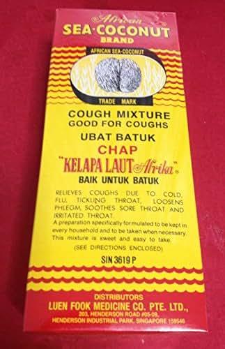 Singapore African Sea Coconut 177ml cough,sore throat