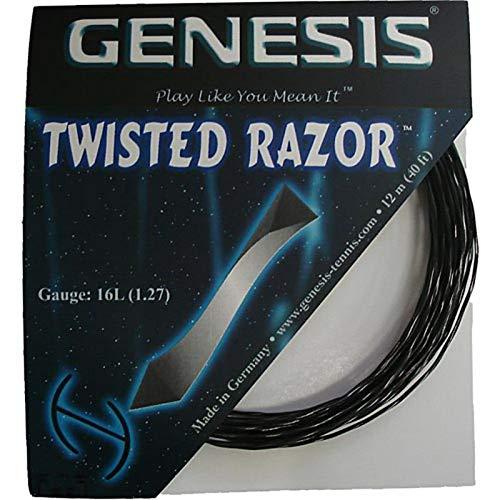 (Genesis Twisted Razor 16L Tennis String)