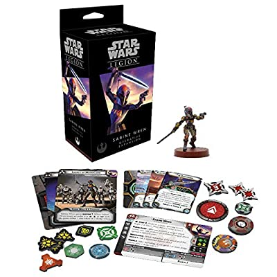 Fantasy Flight Games Sw Legion: Sabine Wren Operative, Multicolor: Toys & Games