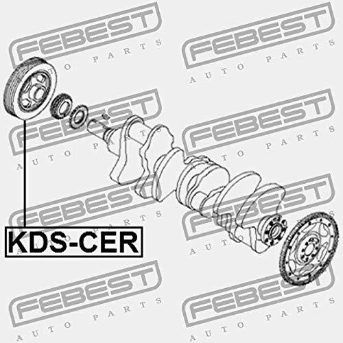 KDS-CER Febest CRANKSHAFT PULLEY ENGINE