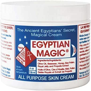 Egyptian Magic All Purpose Skin Cream | Skin, Hair, Anti Aging, Stretch Marks | All Natural Ingredients | 4 Ounce Jar