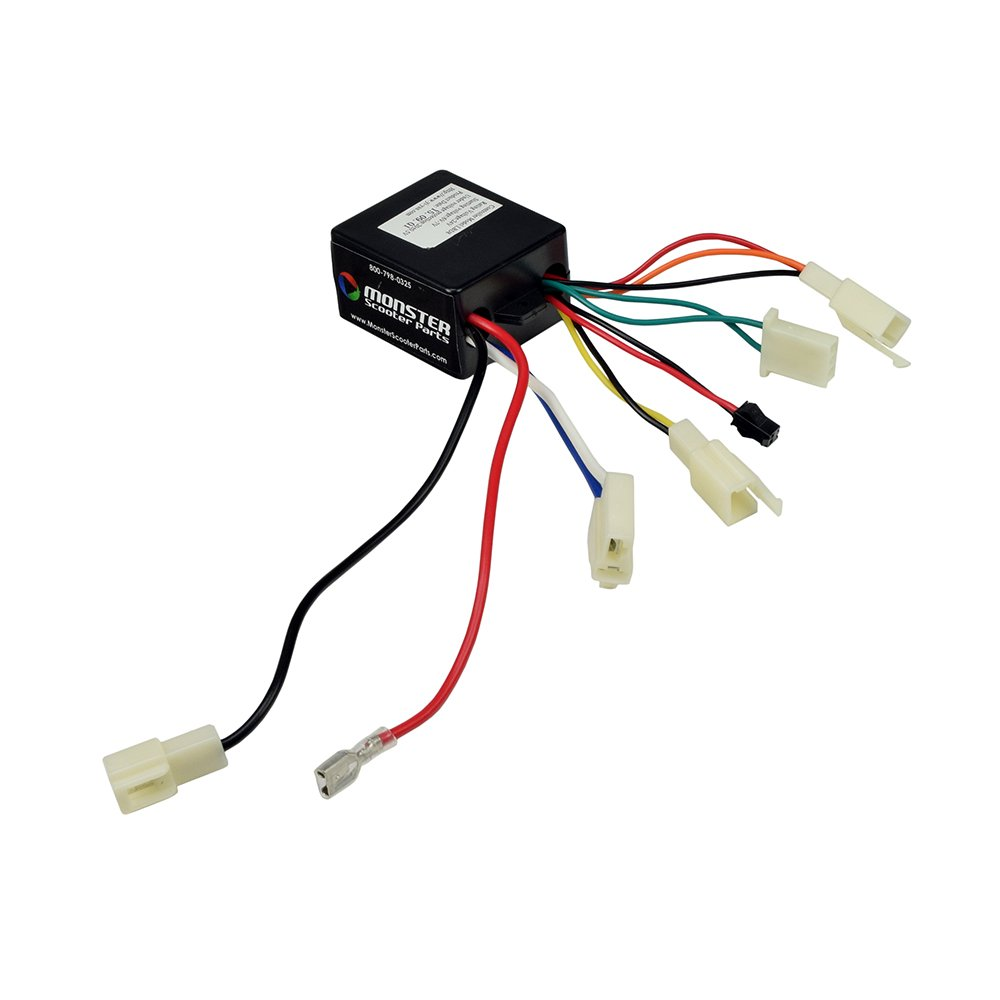 Amazon.com : Monster Motion 24 Volt LBD8 Controller for The Pulse Charger and Pulse Lightning Scooters : Sports & Outdoors