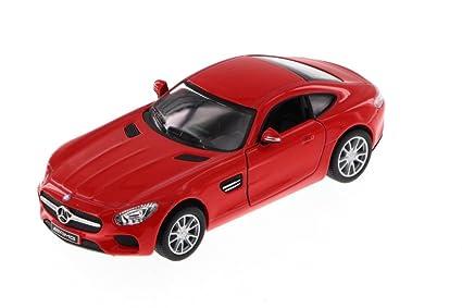 Amazon Com Kinsmart Mercedes Benz Amg Gt Red 5388d 1 36 Scale