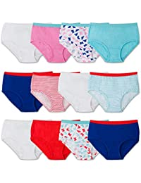 Girls' Cotton Brief Underwear, Assorted
