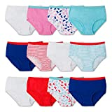 Fruit of the Loom Little Girls'  Brief , Assorted, 4(Pack of 12)