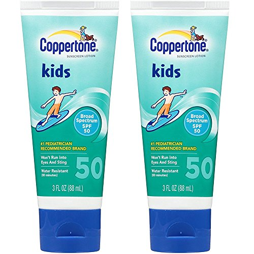 Coppertone KIDS Sunscreen Lotion SPF50 - 3 Ounce Tube