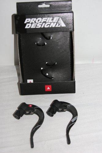 Profile Design ABS Semi Carbon Aero Bicycle Brake Levers - ACSKABS1