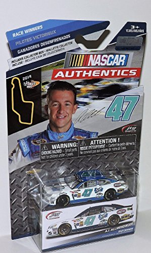NASCAR Authentics A.J. Allmendinger Scott Products Watkins Glen Victory Edition #47 1/64 Scale Diecast Car NASCAR Authentics With Collector Box by NASCAR (Aj Allmendinger Diecast 1 64 compare prices)