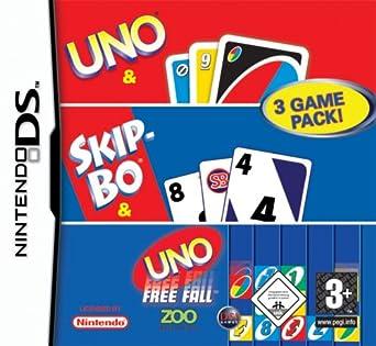 Uno Skip Bo Uno Freefall Compilation Amazonde Games