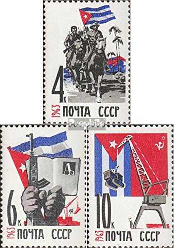 56 (complete.issue.) unmounted mint / never hinged 1963 soviet.-Cuban Friendship (Stamps for collectors) (Unmounted Mint)