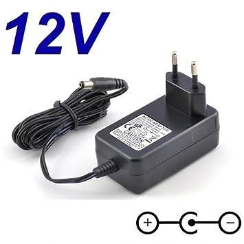 Cargador Corriente 12V Reemplazo Teclado Korg Pa50SD Recambio Replacement: Amazon.es: Electrónica