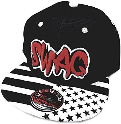 Snapback Sports Caps Gorra Rojo Negro Swag: Amazon.es: Juguetes y ...
